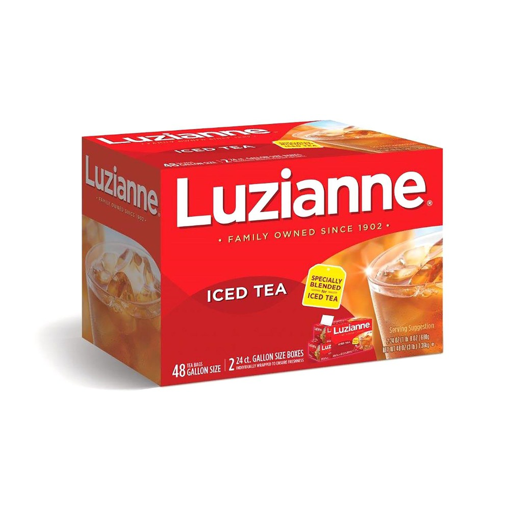 Family Size 48-ct box Luzianne Specially Blended Iced Tea Bags