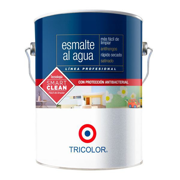 Esmalte al agua profesional blanco perfecto galón 21 x 16 cm