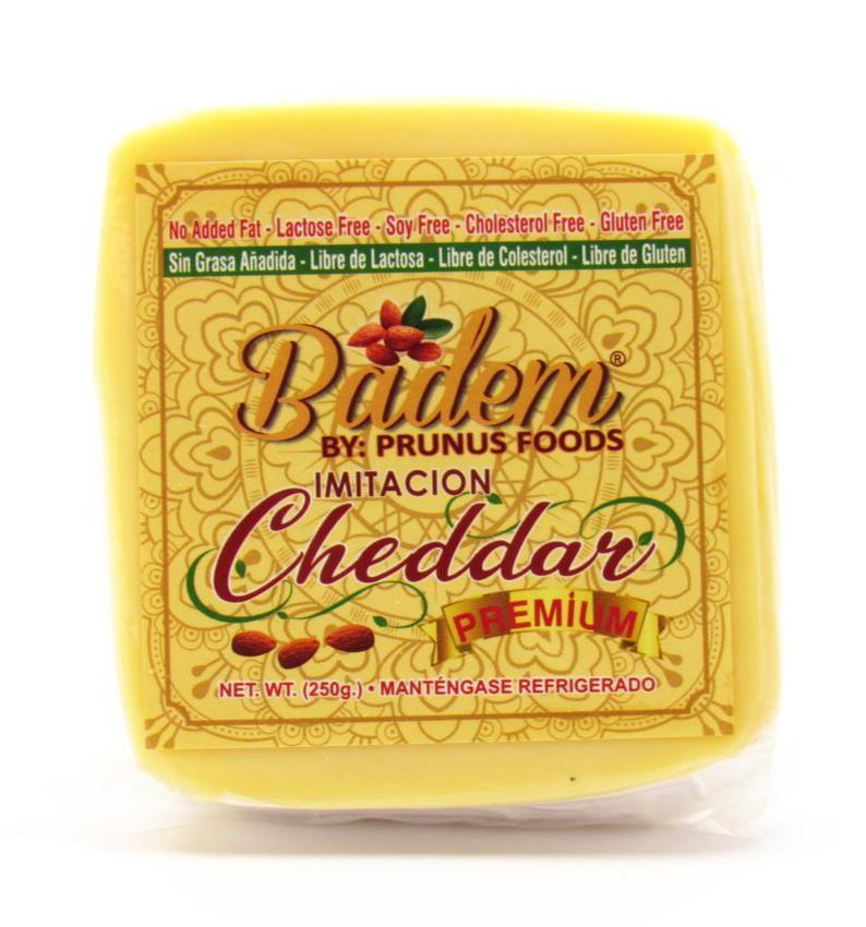 Imitacion queso cheddar premium tajado 250g