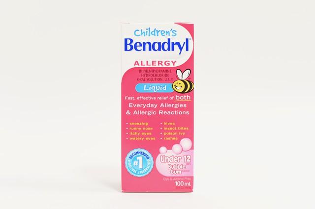 Benadryl childrens allergy liquid