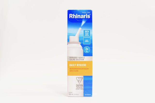 Rhinaris gentle saline daily hygiene solution