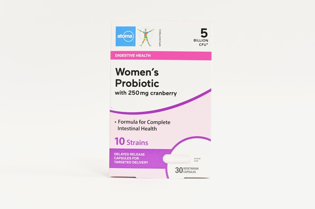 Atoma women's probiotic with 250mg cranberry 10 strains