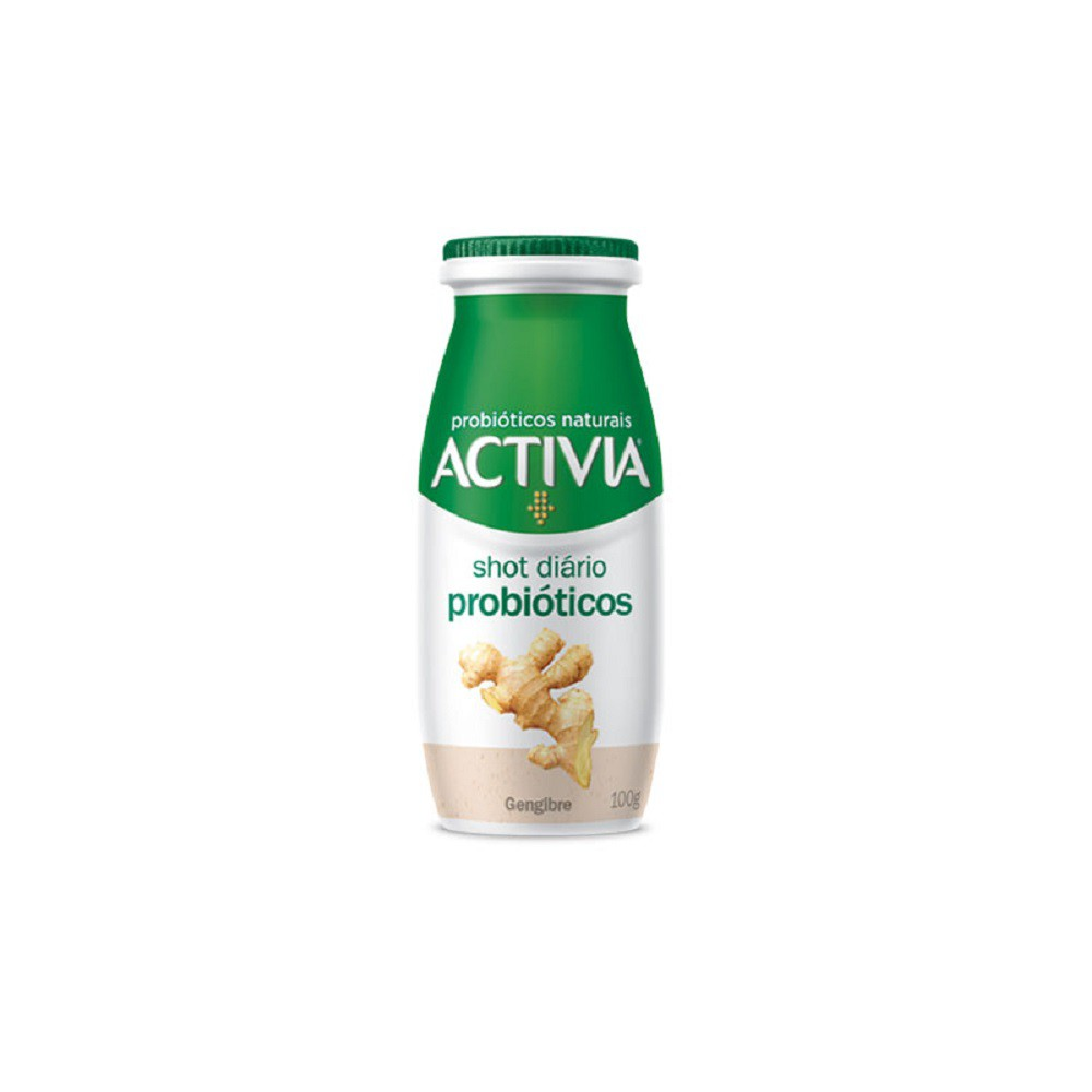 Leite fermentado zero lactose abacaxi gengibre