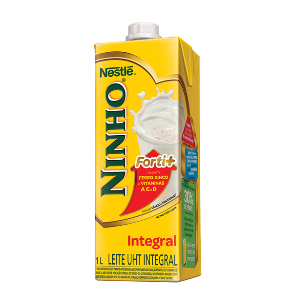 Leite UHT integral Ninho