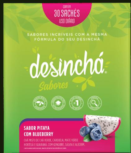 Desincha pitaya com blueberry 45g