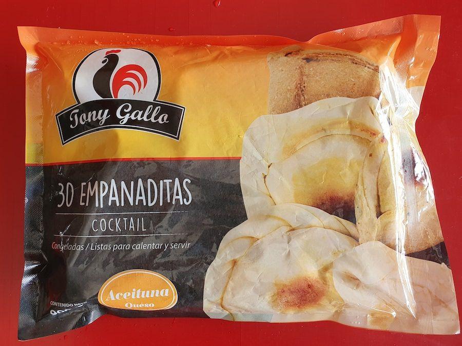 Empanaditas aceituna queso