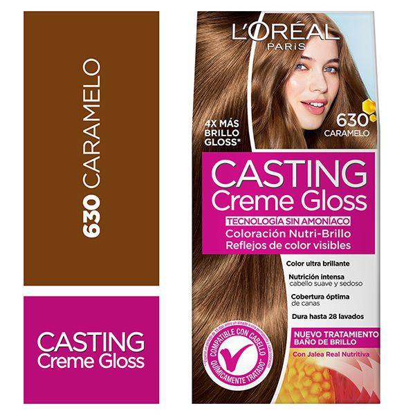 Tintura capilar Creme Gloss caramelo 630