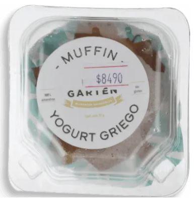 Muffin harina almendras saludable