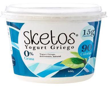 Yogurt griego natural 450 g