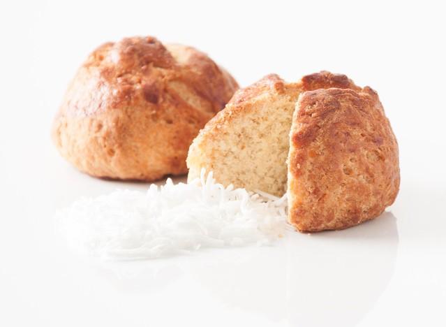 Pan arroz coco 550G