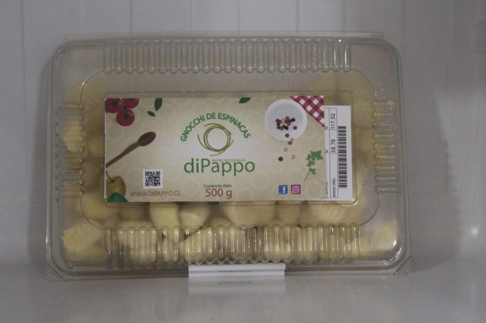 Gnocchi espinacas 500 grs