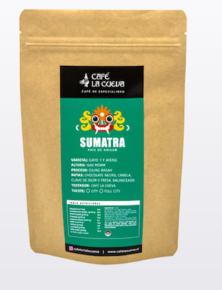"""Café en grano entero """"sumatra"""""""