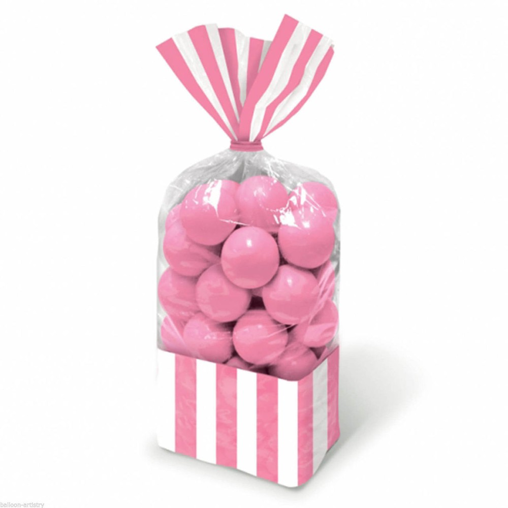 Candy Favor Bags Light Pink 10ct