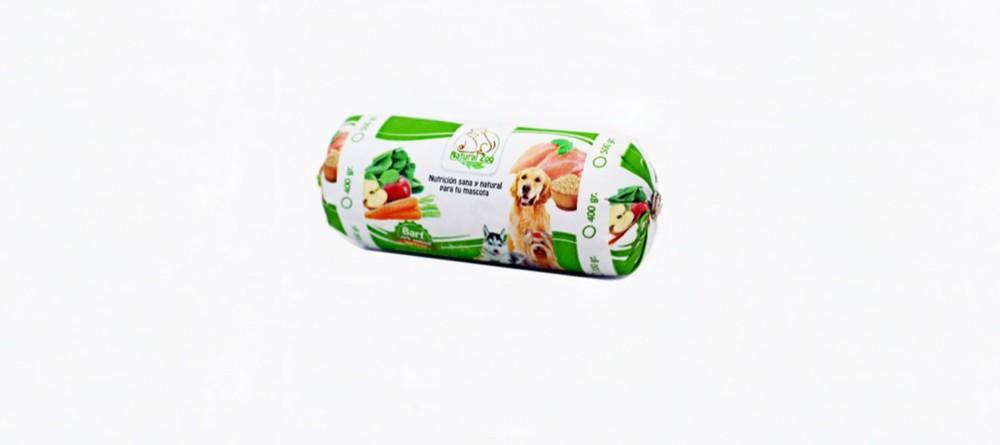 Barra barf de pollo y verduras 300gr