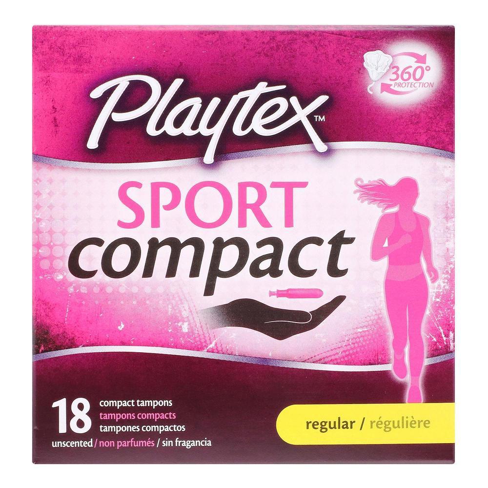 Tampones sport compact regular