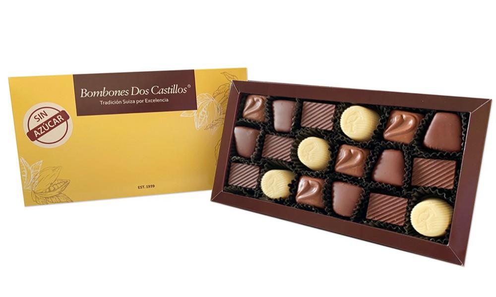 Caja Nº 1 chocolates surtidos  SIN AZÚCAR unidad