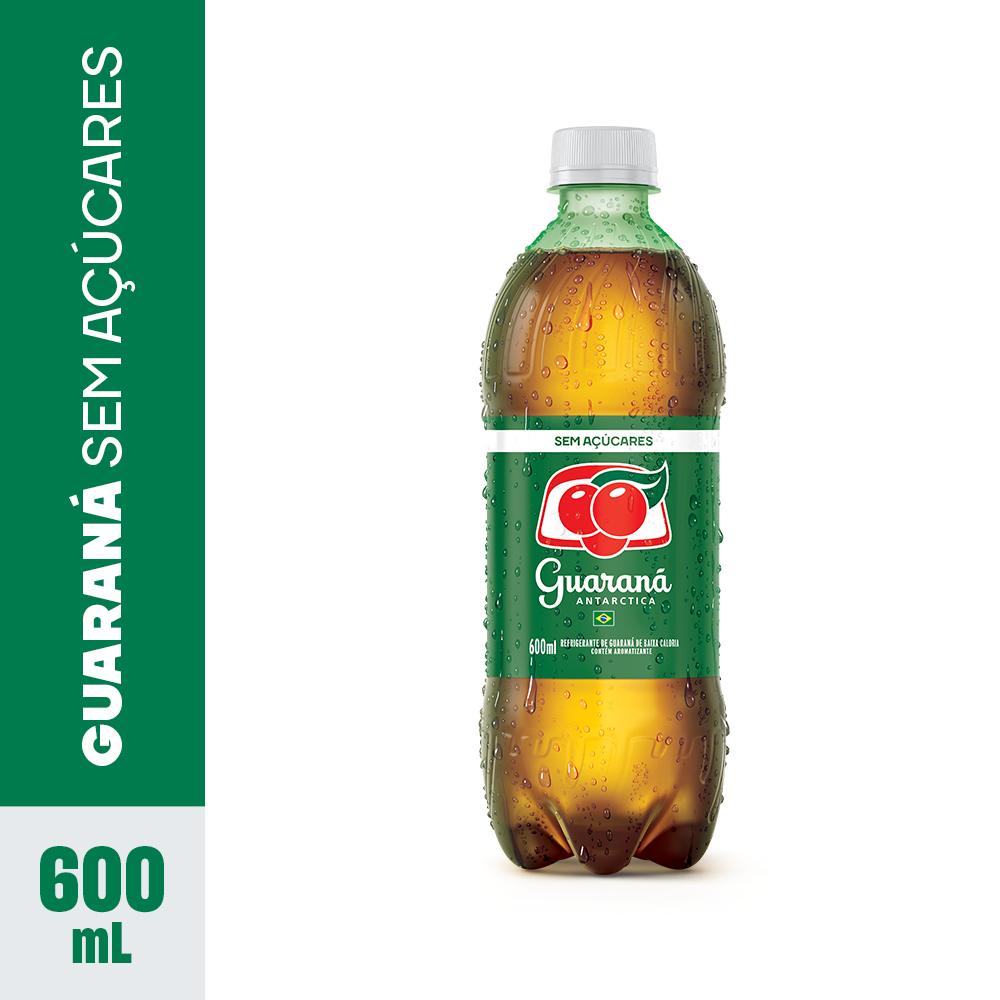 Refrigerante de guaraná sem açúcar