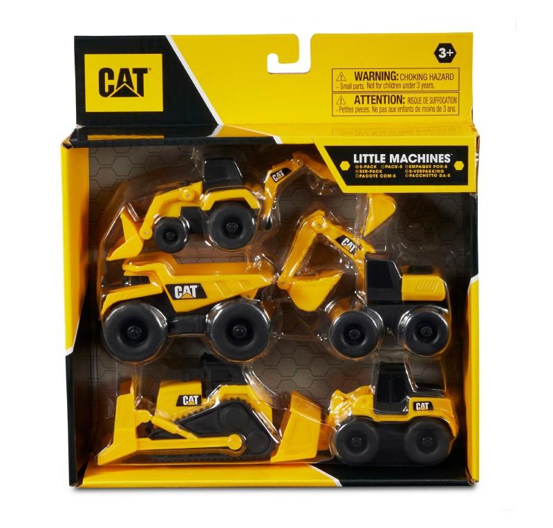 Cat mini maquinas pack de 5