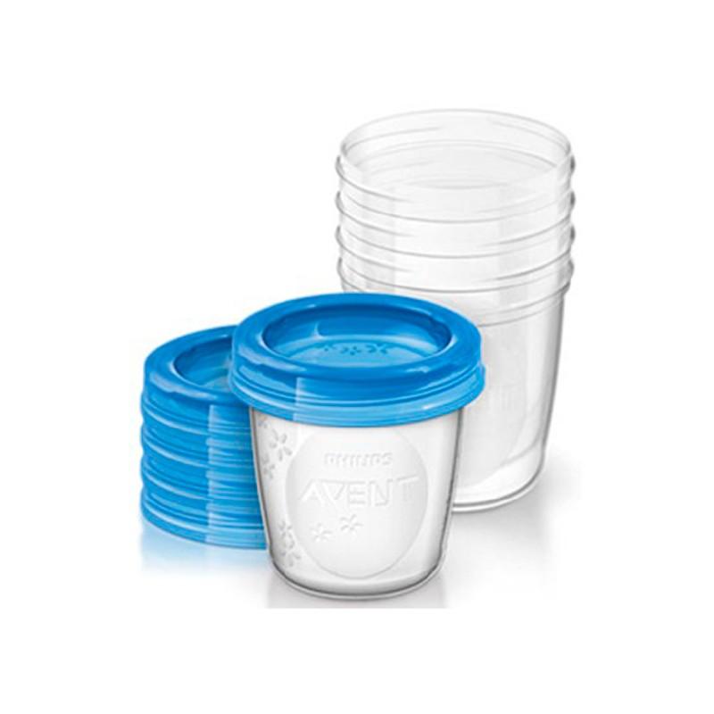Set vasos para almacenar 180ml 5und aven 21x18x25cm