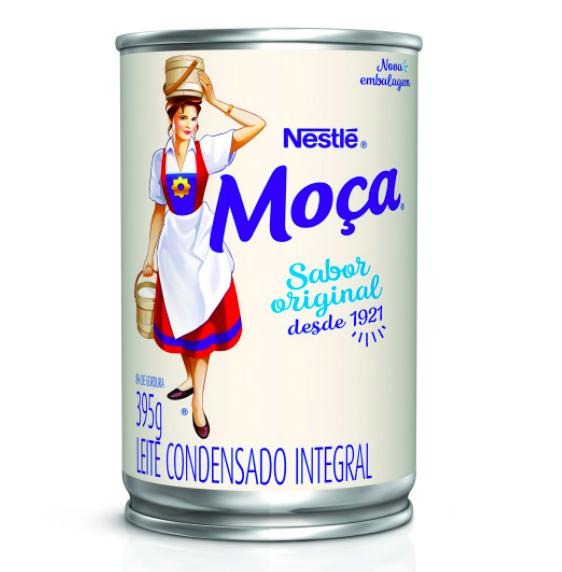 Leite condensado Moça