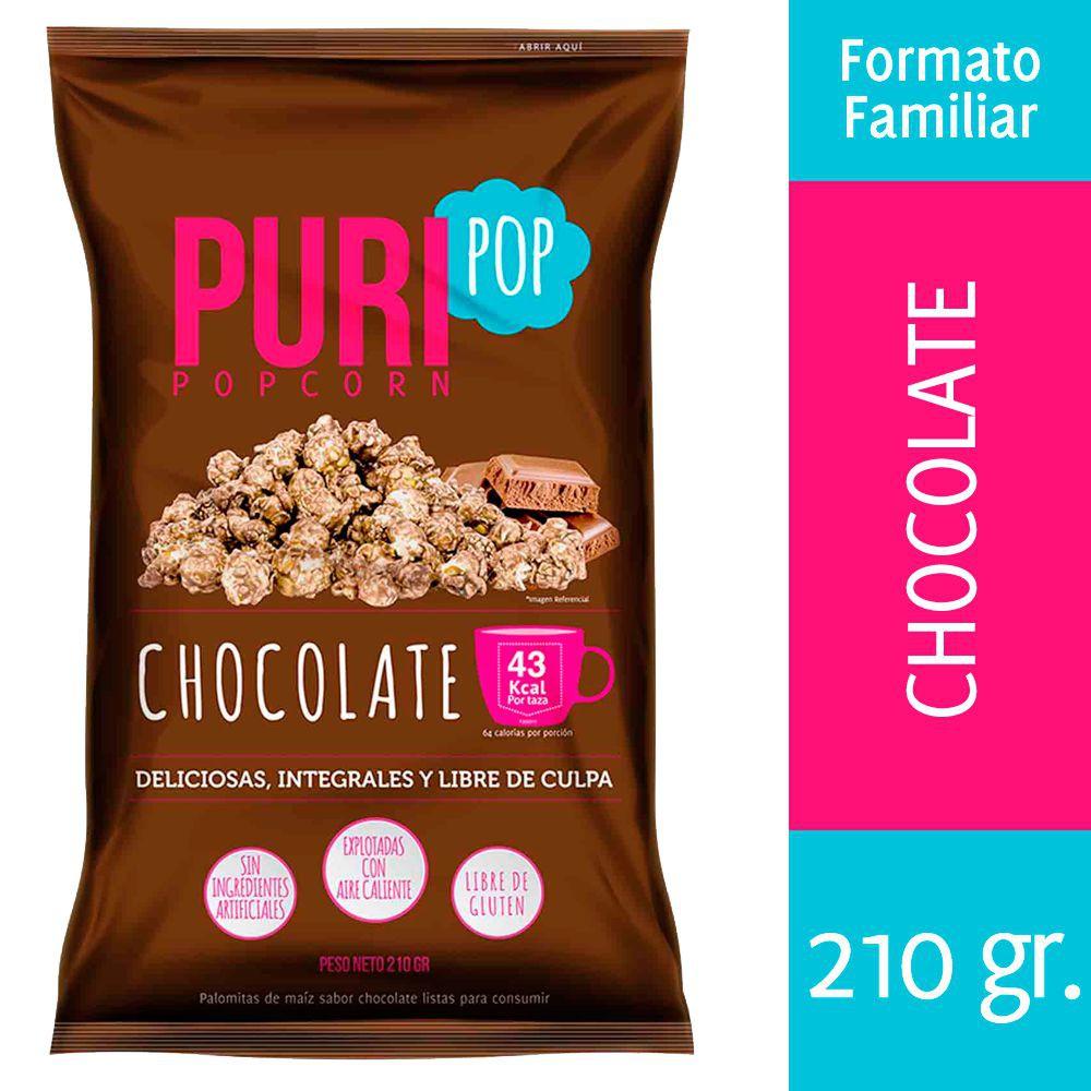 Puri popcorn coco chocolate