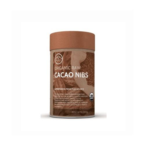 Cacao en grano nibs orgánico 200 GRS.
