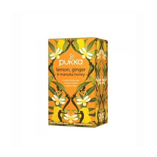 Infusión lemon ginger & manuka honey