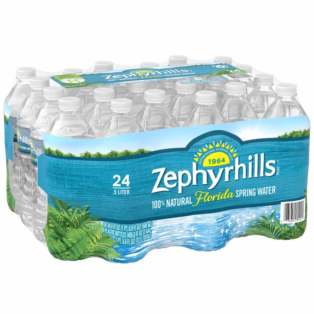 100% Natural Spring Water 24 x 16.9 fl oz