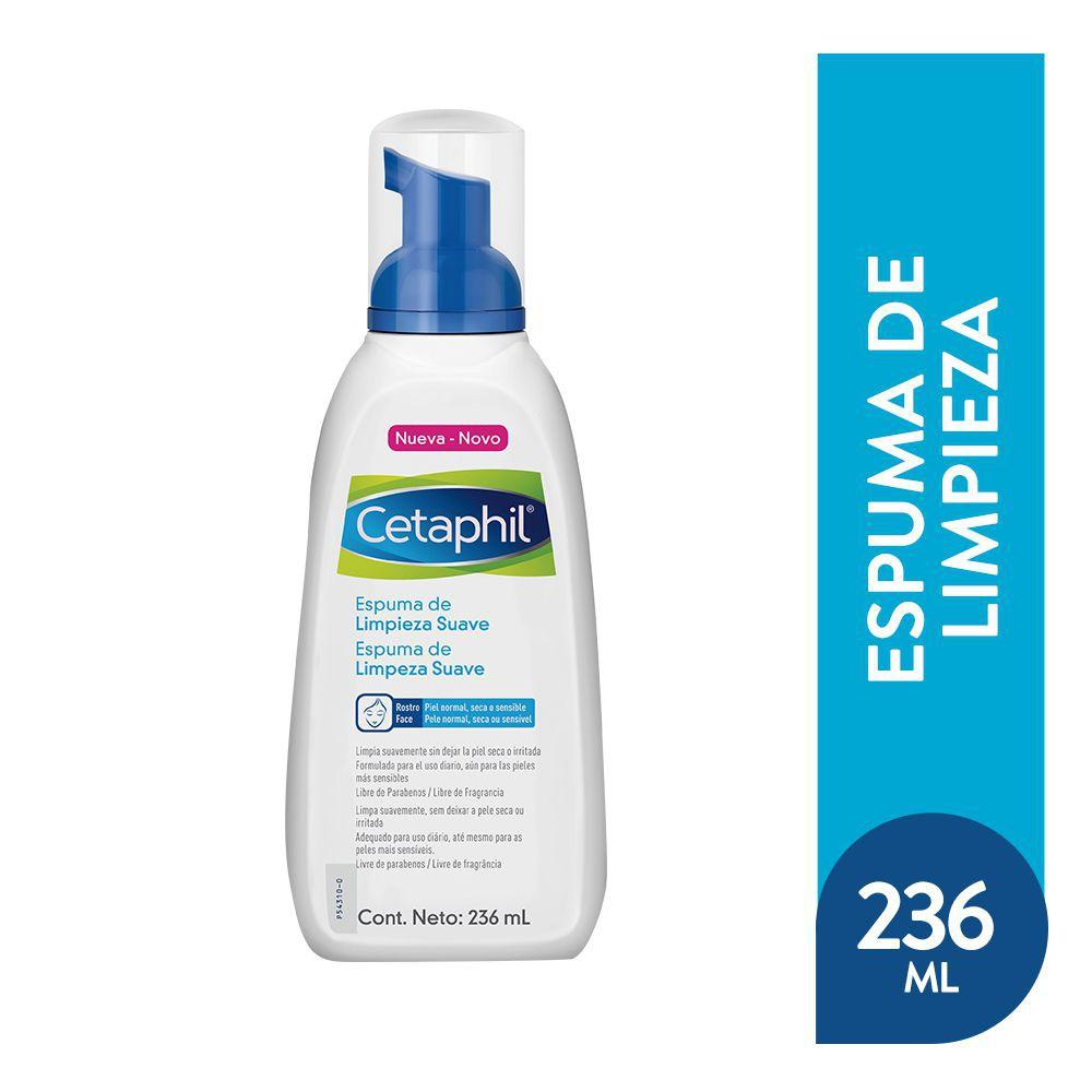 Espuma limpiadora piel sensible