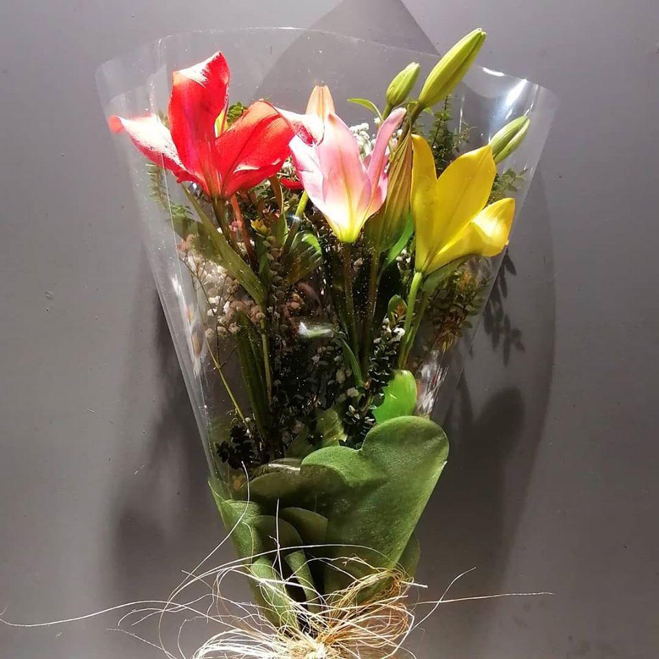 Bouquet  de Lilium Asiático