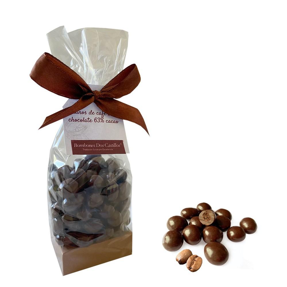 Bolsa granos de café chocolate Bolsa 120 gr
