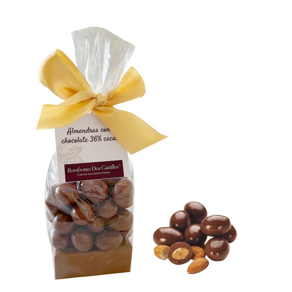 Bolsa almendras con chocolate Bolsa 120 gr