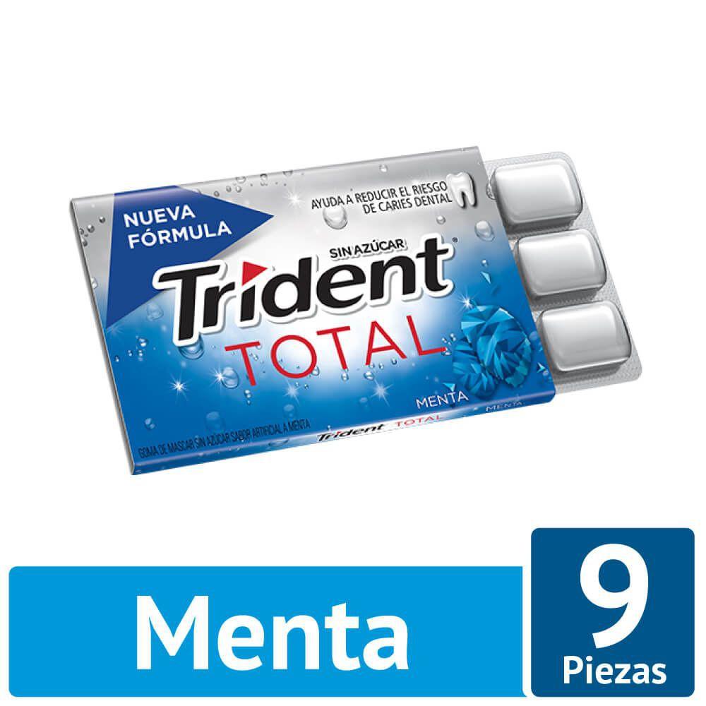 Chicle pastilla sabor menta