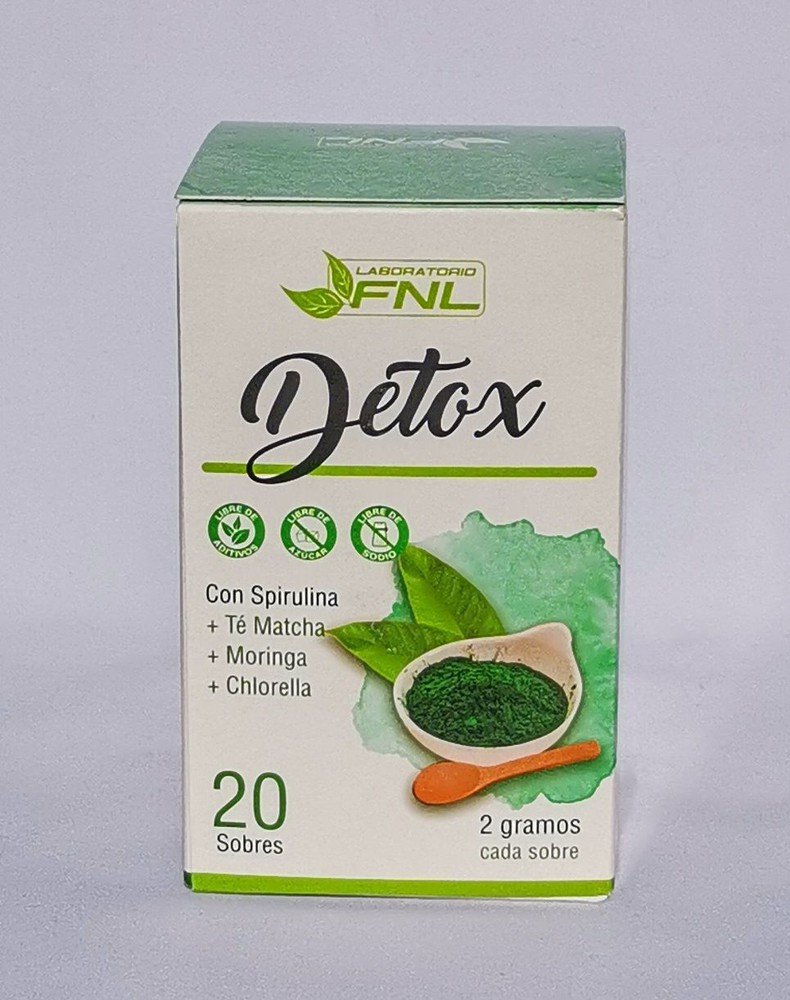 Detox con spirulina sobres