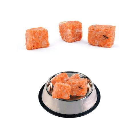 Salmon and liver for cats