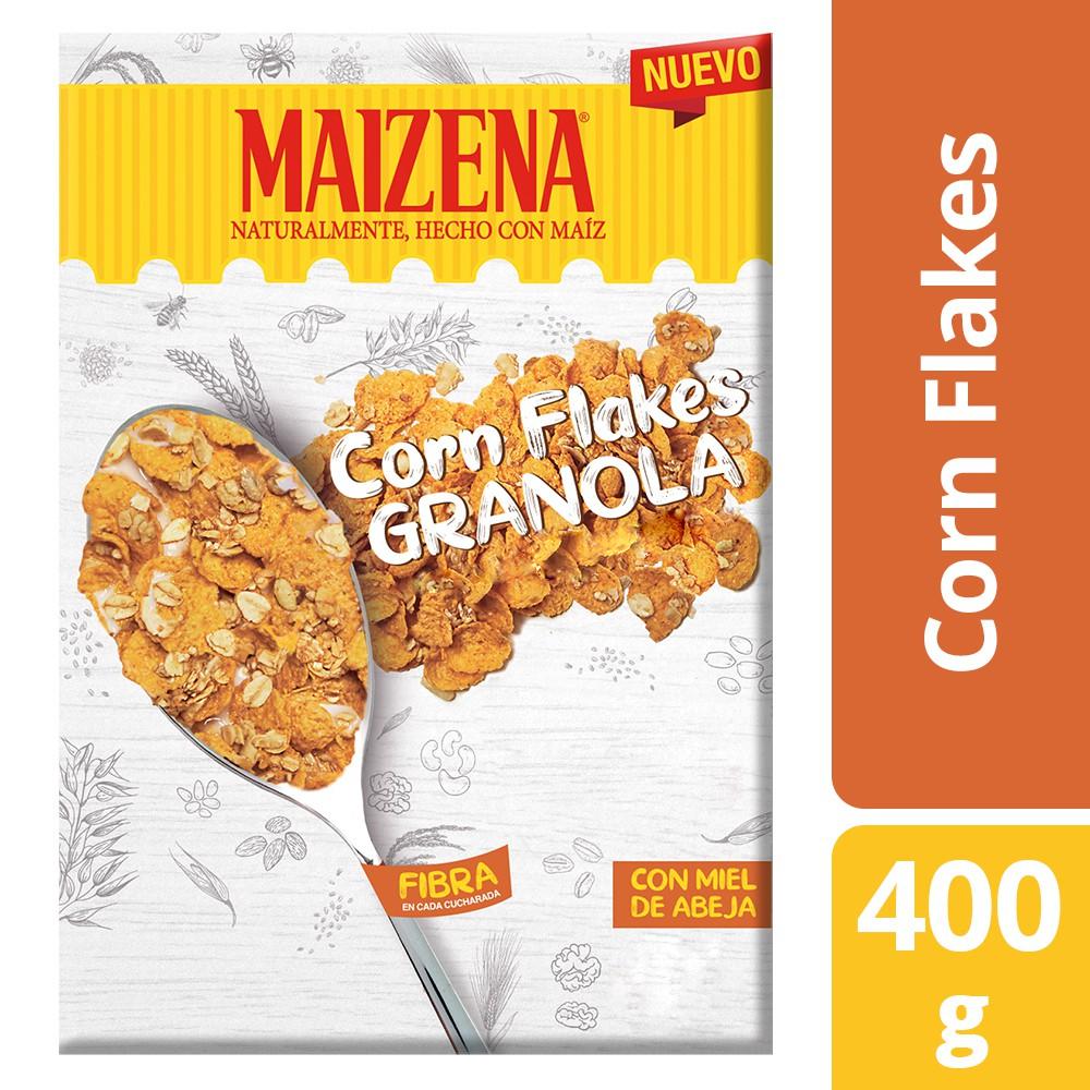Cereal hojuela de maíz granola