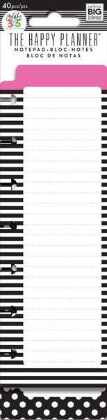 Black and white 25.4 x 7.62 x 0.5 cms