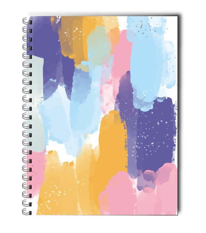 Cuaderno universitario acuarela 20 x 25 cms