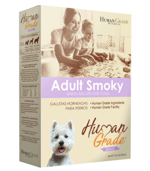 Galletas human grade - grein free  adulto ahumadas