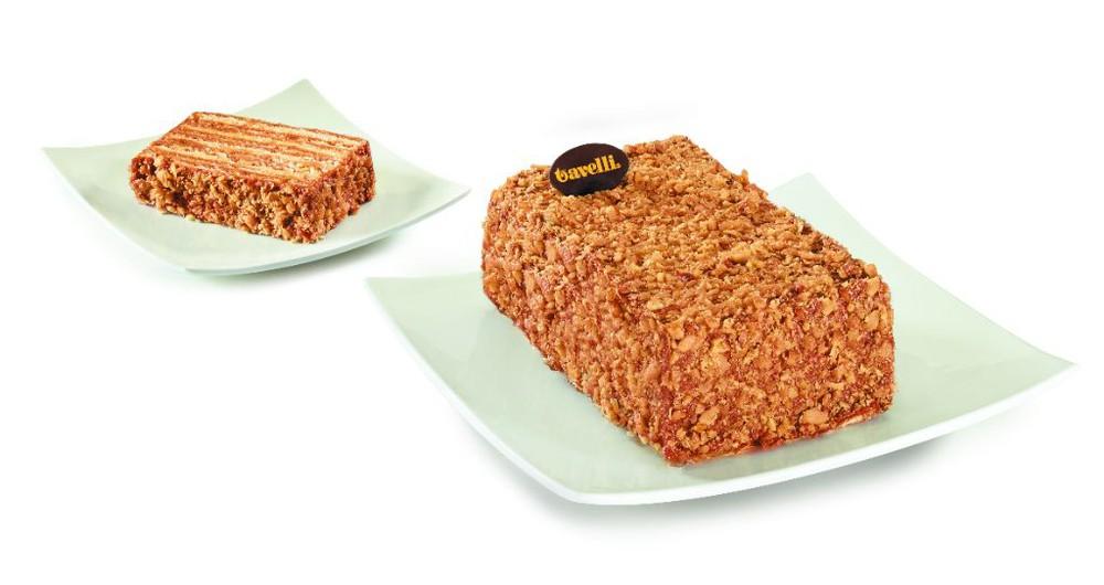 Torta Panqueque Manjar Nuez Vainilla 8 porciones de 175 g