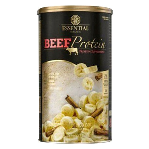Beef protein -  banana com canela