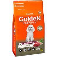 Ração para cães adultos sabor carne Golden 3kg