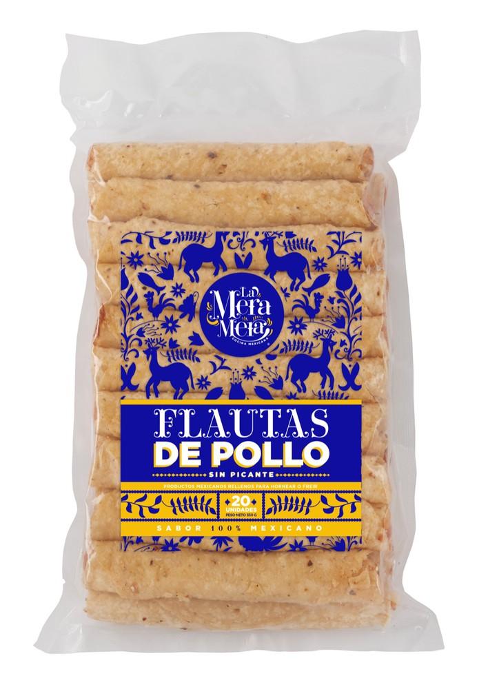 Flautas de Pollo 20 unidades por paquete