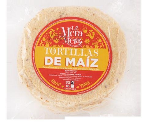Tortillas de maíz Bolsa 32 u