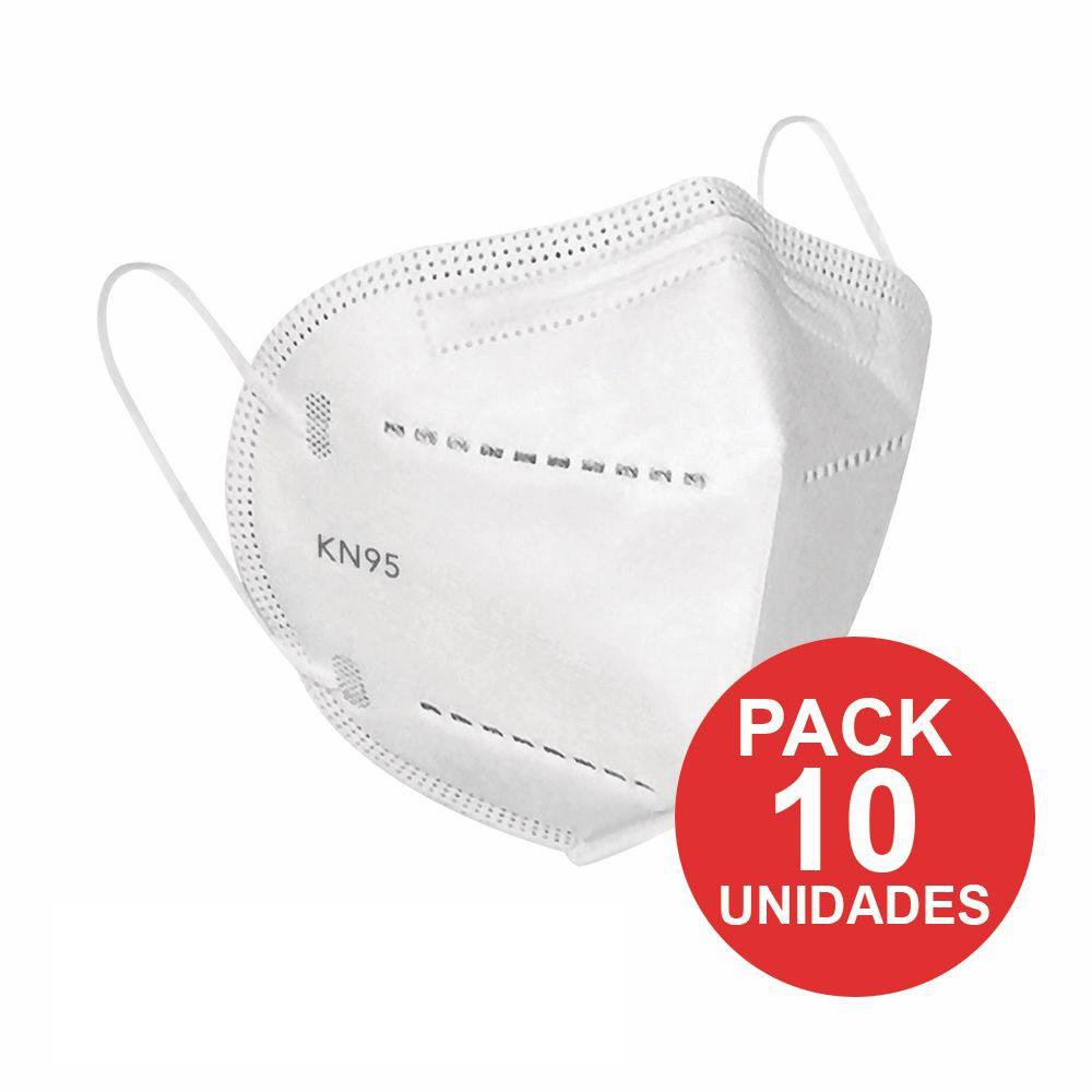 Mascarillas KN95 pack de 10 unidades