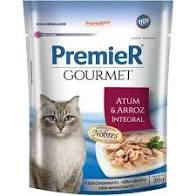 Ração úmida para gatos gourmet sabor atum e arroz integral 70g