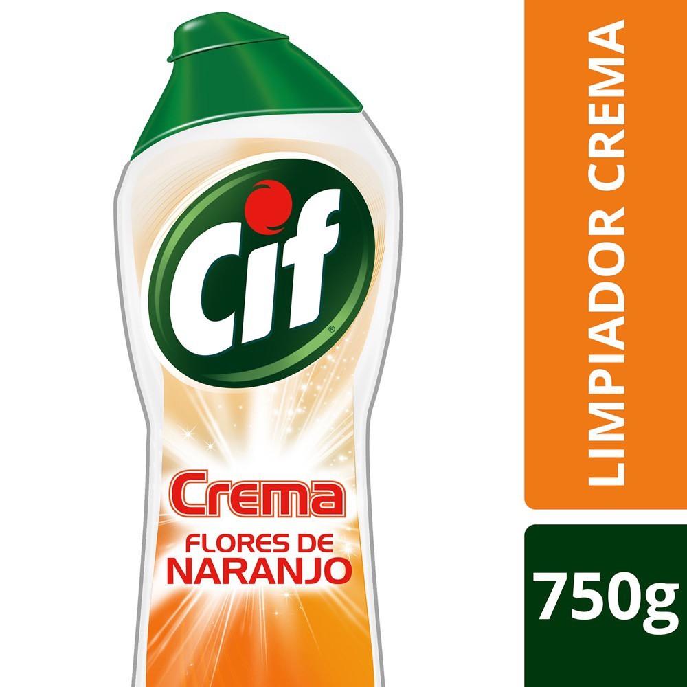 Limpiador en crema flores de naranjo