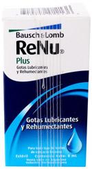 Renu Plus solución para lentes de contacto