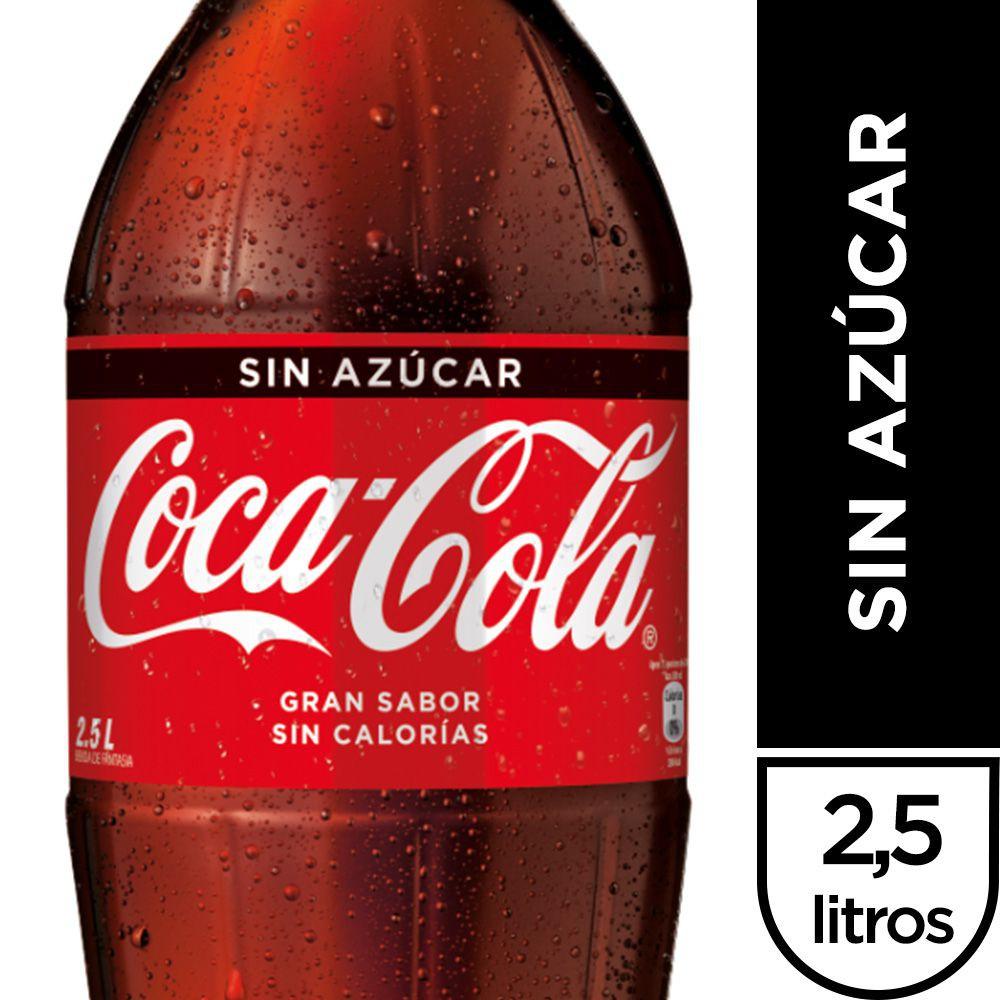 Bebida sin azúcar 2.5 l