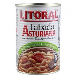 Fabada Litoral Asturiana Lata 435 Gramos